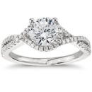Engagement Rings with Sidestones